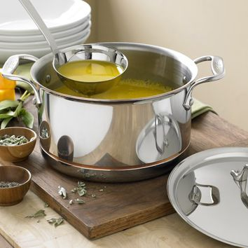 All-Clad Copper Core Soup Pot with Ladle, 4-Qt.