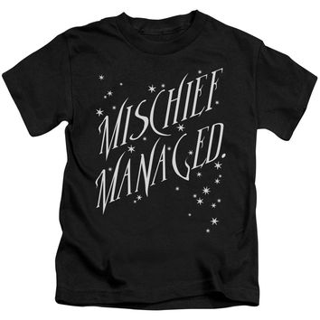 Harry Potter - Mischief Managed 4 Short Sleeve Juvenile 18/1