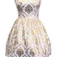 Sequin Sweetheart Dress - Kely Clothing