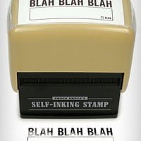 Blah Blah Blah Self Inking Stamp | PLASTICLAND
