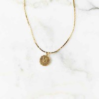 Gold Mini Zodiac Necklace