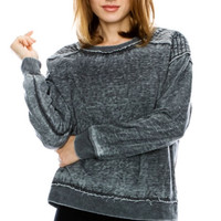 Burn Out Comfy Sweatshirt!