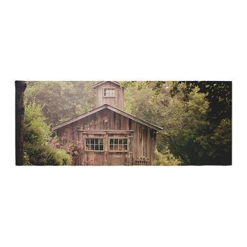 "Angie Turner ""Shabby Chic Barn"" - Nature Photography Bed Runner"