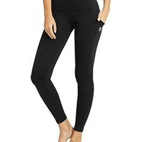"Baleaf Women's Yoga Workout Leggings Side Pocket for 6"" Mobile Phone"