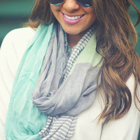 Wintergreen Mint Scarf: Multi | Hope's