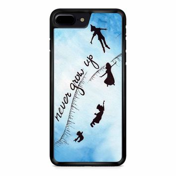 Peter Pan Never Grow Up 2 iPhone 8 Plus Case