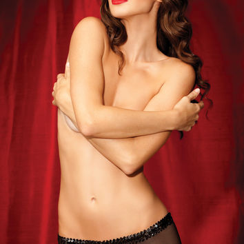 Rene Rofe Showgirl Flash Dance Boyshort 1081