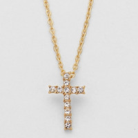 Cross Gold Necklace