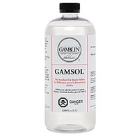 Artists' Grade Gamsol Oil Color Size: 1 Liter, 33.8 Fl. Oz.