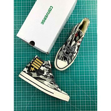 Converse Chuck Taylor All Star 1970s Camo Mid Sneakers