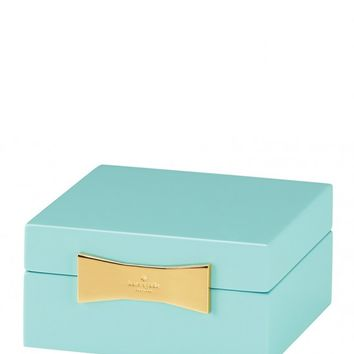 Kate Spade New York Square Turquoise Jewelry Box