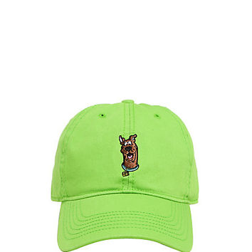 Scooby Doo Embroidered Green Dad Cap