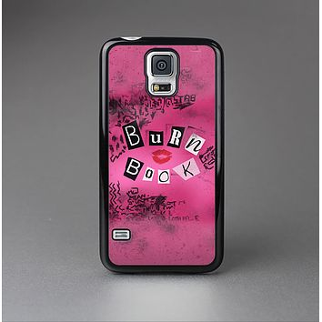 The Burn Book Pink Skin-Sert Case for the Samsung Galaxy S5
