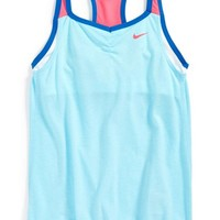 Girl's Nike 'Cool' Dri-FIT 2-in-1 Cami Training Tank Top,