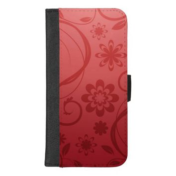 Artistic Floral iPhone 8/7 Plus Wallet Case