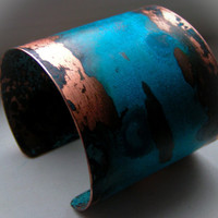 Verdigris Copper Cuff