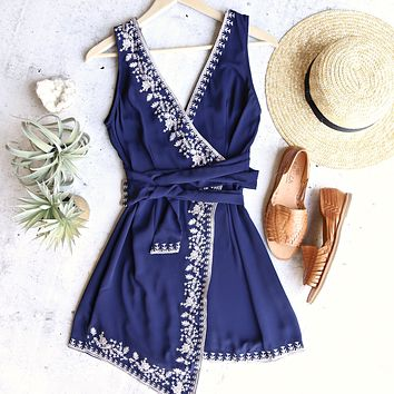 songbird wrap dress