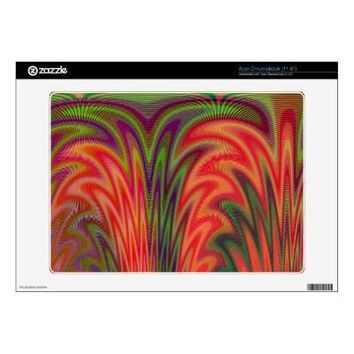 Fan In Bright Colors Skin For Acer Chromebook from Zazzle.com