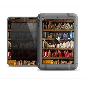 The Vintage Bookcase V1 Apple iPad Air LifeProof Fre Case Skin Set