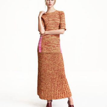 H&M Rib-knit Skirt $39.99