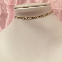 18K Gold Plated Chain Choker