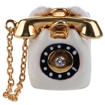 Miss Bibi Telephone Pin - Labour Of Love - Farfetch.com