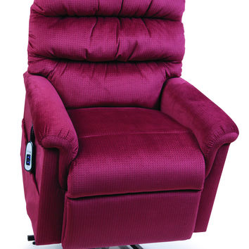 Ultracomfort Power Lift Chair Recliner, UC542 RUBY RED - Montage