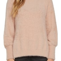 Willow & Clay Fuzzy Mock Neck Sweater | Nordstrom