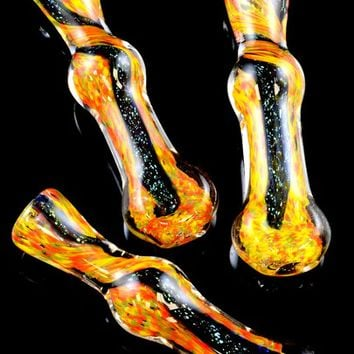 Frit Chillum with Dichro Accent