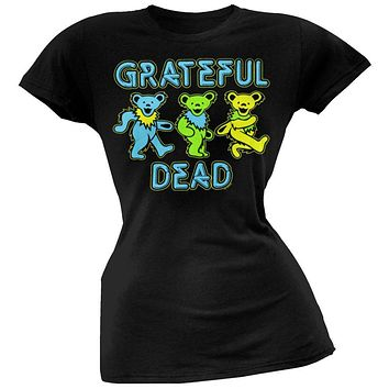 Grateful Dead - Neon Bears Juniors T-Shirt