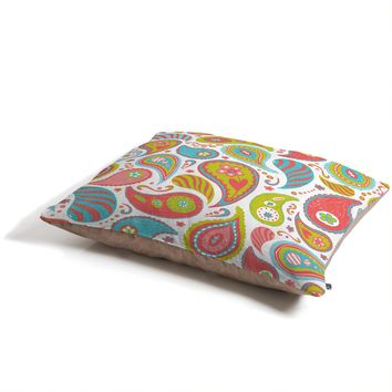 Heather Dutton Power Paisley Pet Bed