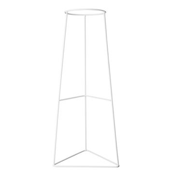 plant stand / arrow / white