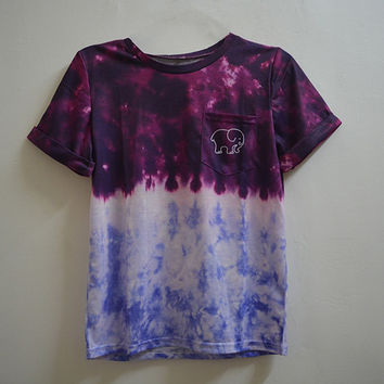 Gradient Elephant T Shirt Ladies