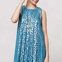 Anthropologie - Shimmer Spot Dress