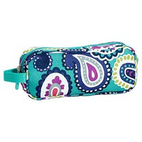 Gear-Up Ceramic Pool Paisley Pencil Case