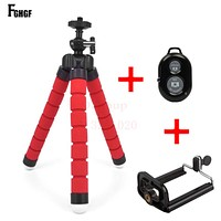 """""""Free Shipping"""" Flexible Tripod+Bluetooth With Remote Shutter For iPhone"""
