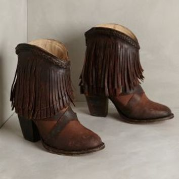 Laredo Fringe Booties by Freebird by Steven Brown
