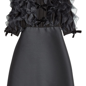Wool Dress with Ruffles - Giambattista Valli | WOMEN | KR STYLEBOP.COM