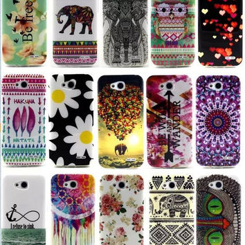 Animal and Pattern Print Soft TPU Case Cover for LG Optimus (L90, D405, D405N, D415)