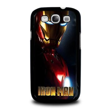 iron man 1 samsung galaxy s3 case cover  number 1
