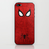 Spider-Man iPhone & iPod Skin by TheLinC