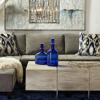 Live In Color Living Room5 look on @ZGallerie