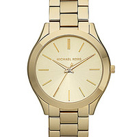 Michael Kors Slim Runway Goldtone Watch - Goldtone