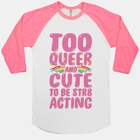 Too Queer And Cute To Be Str8 Acting