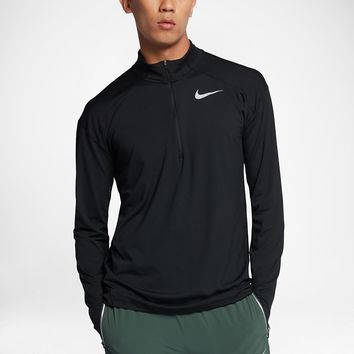 Nike Dri-FIT Element Men's Long Sleeve Half-Zip Running Top. Nike.com