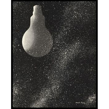 Électricite Framed Print by Man Ray