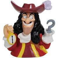 Peter Pan Captain Hook Cookie Jar - Westland Giftware - Peter Pan - Cookie Jars at Entertainment Earth