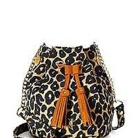 Malibu Creek Print Mini Bucket Bag