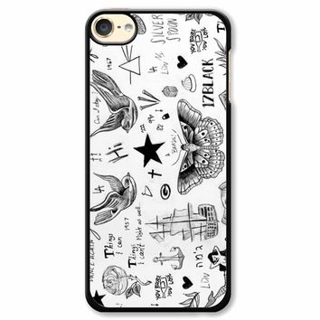 Harry Styles Tattoos iPod Touch 6 Case