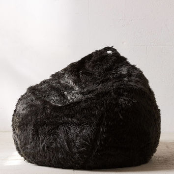 Aspyn Faux Fur Shag Bean Bag Chair | Urban Outfitters